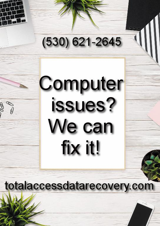 Computer Issues? We can fix it!